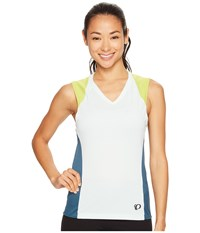 Pearl Izumi Launch Sleeveless Jersey Skylight Blue Steel Women's Sleeveless Skylight Blue Steel