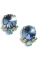 Sorrelli Regal Rounds Earrings Blue
