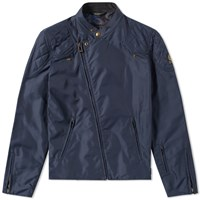 Belstaff X Sophnet. Nylon Rebel Jacket Blue