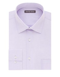 Geoffrey Beene Cotton Blend Dress Shirt Iris
