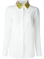 Altuzarra Embellished Collar Shirt White