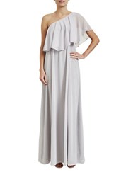 Paper Crown Madison Floor Length Gown Grey