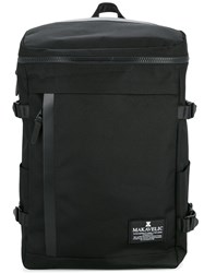 Makavelic Rectangle Daypack Polyester Black