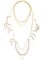 Wouters And Hendrix 'Holiday' Necklace Metallic