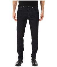 Kenneth Cole Sportswear Five Pocket Knit Jeans In Dark Indigo Dark Indigo Men's Jeans Blue