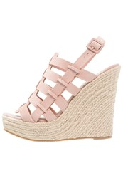 Chinese Laundry Dance Party Wedge Sandals Vintage Rose