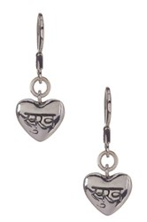 Lois Hill Sterling Silver Jivasukha Heart Drop Earrings No Color