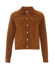Maison Martin Margiela Point Collar Suede Jacket