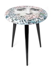 Fornasetti Ortensia Stool Unisex Wood One Size Black
