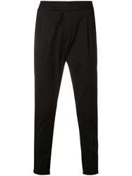 Low Brand X Houseofc Tailored Track Pants Black