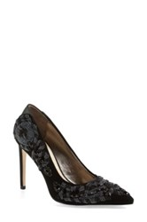 Sam Edelman 'Dani' Beaded Pointy Toe Pump Women Black