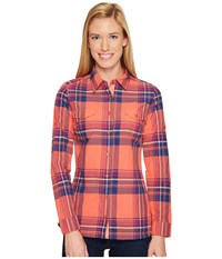 Kuhl Mable Long Sleeve Shirt Guava Women's Long Sleeve Button Up Pink