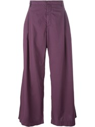 Walter Van Beirendonck Wide Leg Trousers Pink And Purple