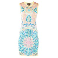 Ekaterina Kukhareva Clio Dress Blue Gold Yellow