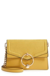 Topshop Seline Faux Leather Crossbody Bag Yellow Yellow Multi