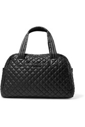 M Z Wallace Mz Jimmy Quilted Shell Tote Black