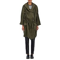Nsf Callie Cotton Twill Hooded Anorak Olive