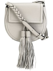Rebecca Minkoff 'Isobel' Saddle Bag Nude And Neutrals