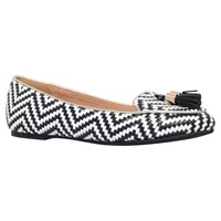 Miss Kg Neptune Slip On Loafers Black White