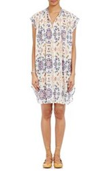 Giada Forte Butterfly Print Tunic Dress White