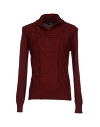 Hotel Sweaters Brick Red