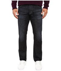 Ag Adriano Goldschmied Matchbox Slim Straight Jeans In 2 Year Deets 2 Years Deets Men's Jeans Black