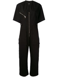 Isabel Marant Talma Jumpsuit Women Cotton 40 Black