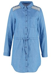 Twintip Denim Dress Blue Denim