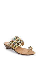 Love And Liberty Women's Sammy Toe Ring Sandal