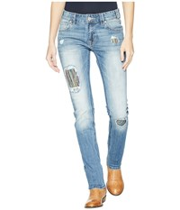 Rock And Roll Cowgirl Boyfriend In Medium Vintage W2s5103 Medium Vintage Jeans Blue