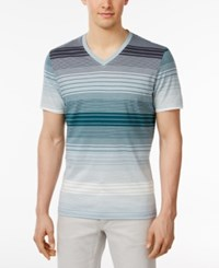 Inc International Concepts Men's Striped Cotton V Neck T Shirt Only At Macy's Lightning Combo