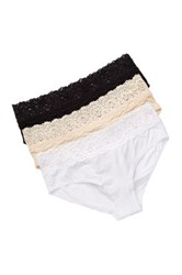 Jezebel Hipster Panty Pack Of 3 Multi