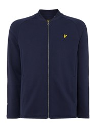 Lyle And Scott Men's Seam Pocket Bomber Sweat Navy