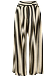 Dusan Wide Leg Palazzo Trousers Nude And Neutrals