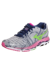 Mizuno Wave Paradox Stabilty Running Shoes Microchip Green Flash Electric Light Grey