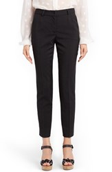 Dolce And Gabbana Women's Dot Print Slim Ankle Pants