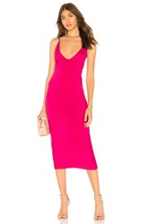 Clayton Abbey Dress Fuchsia