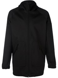 Aspesi Zip Up Hoodie Black