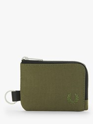Fred Perry Zip Around Wallet Olive