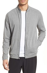 Tasc Performance Carrollton Zip Jacket Heather Grey
