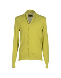 Patrizia Pepe Knitwear Cardigans Men Acid Green