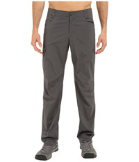 Columbia Silver Ridge Stretch Pants Grill Men's Casual Pants Gray