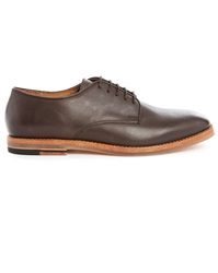 Hudson Brown Hadstone Leather Derbies