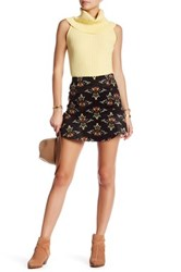 Free People Roll With Us Corduroy Skirt Black