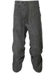 Lost And Found Ria Dunn Cropped Pants Men Cotton Hemp M Grey