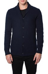 Men's 7 Diamonds 'Noma' Button Cardigan Indigo