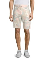 Wesc Camouflage Cotton Shorts Pastel Grey
