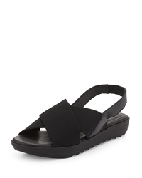 Trek Crisscross Wedge Sandal Eileen Fisher