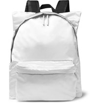 Raf Simons Eastpak Printed Shell And Cotton Canvas Backpack Silver