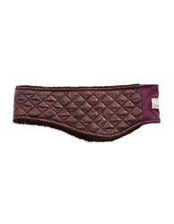 Ugg Faux Fur Lined Headband Purple